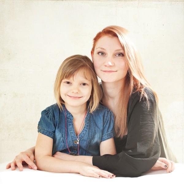 Maja & moster Eva