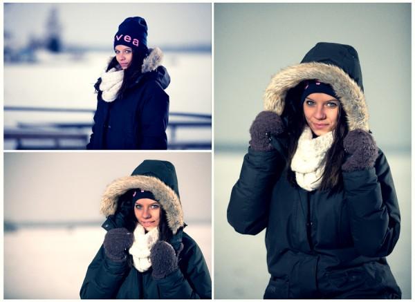 Vinterporträtt på Cassandra