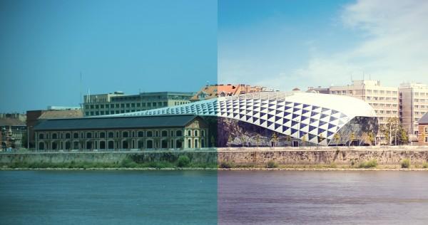 Bildbehandlat Budapest