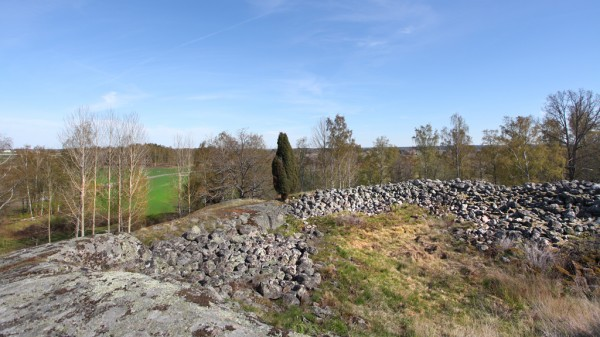 Fornborgen i Vallby socken