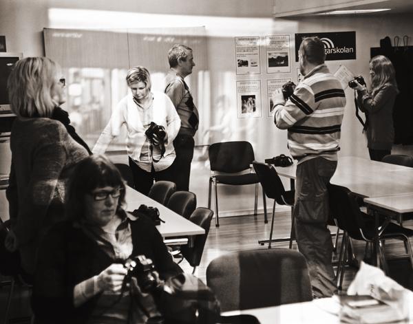 fotokurs systemkameran grund på medborgarskolan i Eskilstuna