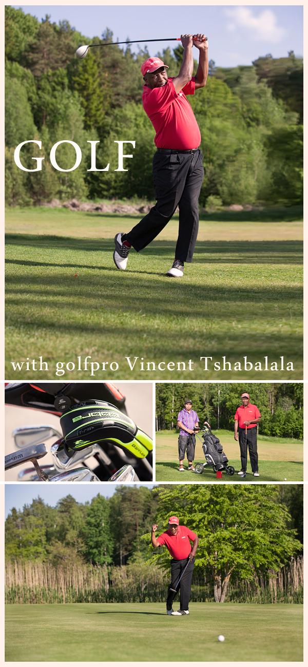 Golfpro Vincent Tshabalala
